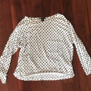 Light T-shirt with polka dots from Forever 21